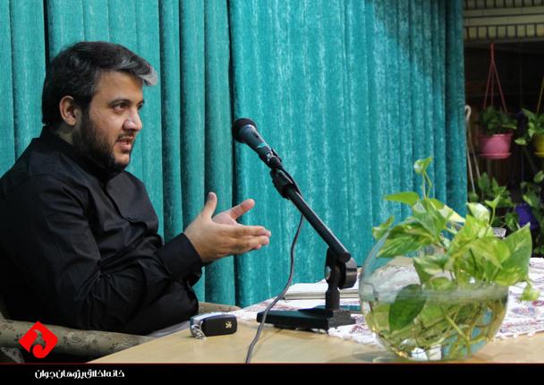 محمد حقی در اولین کارگاه یادداشتنویسی