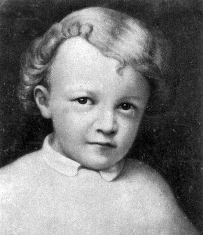 لنین در کودکی