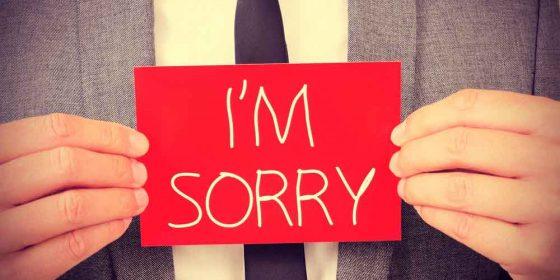 عذرخواهی الزامی اخلاقی است اما شاید پیامدگرایان مخالف باشند